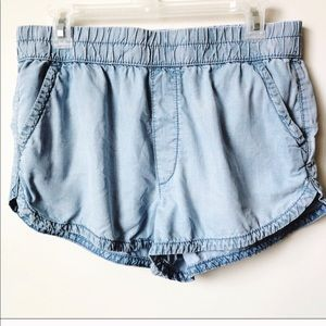 American Eagle Outfitters Chambray Shorts